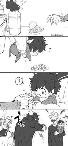 Look at Deku's face in the last picture So cute! - Look at Deku's face in the last picture So cute! My Hero Academia Shouto, My Hero Academia Episodes, Hero Academia Characters, All Out Anime, Anime Love, Anime Guys, Villain Deku, The Villain, Chibi