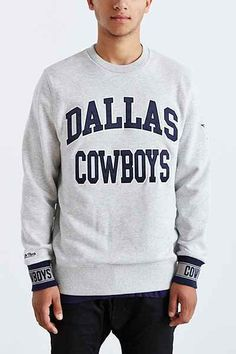 Mitchell & Ness Dallas Cowboys Team Sweatshirt - Urban Outfitters