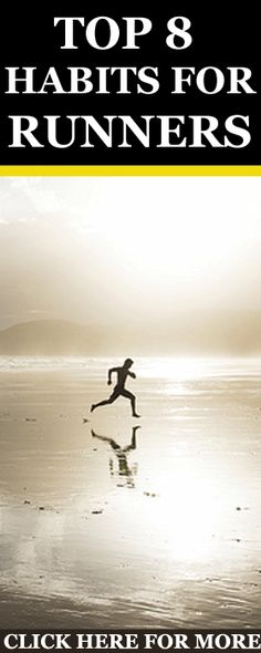 Here are the eight habits of successful runners. Make them your own to help you become a more consistent, stronger and happier runner. http://www.runnersblueprint.com/the-8-habits-of-highly-effective-runners/ #Running #Fitness #Habits