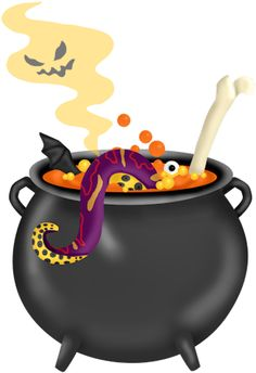 halloween cauldron clip art clip art halloween 1 clipart rh pinterest com cauldron clipart black and white witches cauldron clipart free