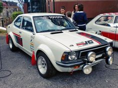 Toyota Corolla Rally car. Sweet flares!