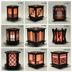 *Japanese* Wooden Electric Scent Oil Diffuser Warmer Burner Aroma Fragrance Lamp #WoodenLamp