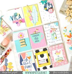 How cute and bright is designer @floramfarkas #projectlife spread created using the #may2016 #hipkits? Love!! @hipkitclub @jillibeansoup #healthyhellosoup #woodveneer #hkcexclusives #exclusives #pocketpages #papercrafting @bellablvdllc #hipkitclub #kits  #scrapbookingkitclub #kitclub