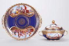 Écuelle nouvelle forme and plateau royal collection london