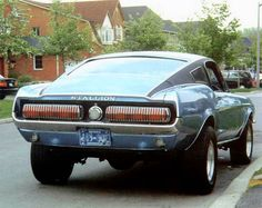 The Ford 'Stallion' Mustang Fastback. Forgot what dealership made these but there were only a handful produced.