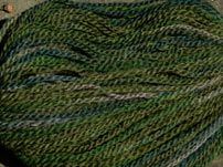 Romney - semi-worsted - handpainted foresty (g3)