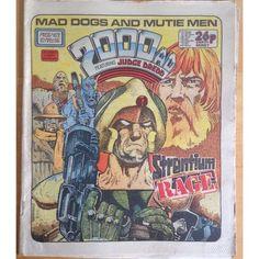 2000 AD #469 1986 UK Paper Sci Fi Comic
