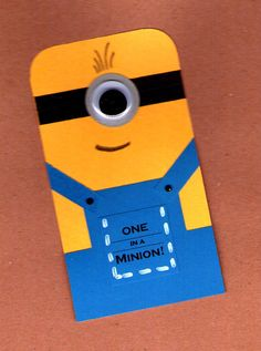 One in a Minion Valentines 25pk by BongelBlessings on Etsy