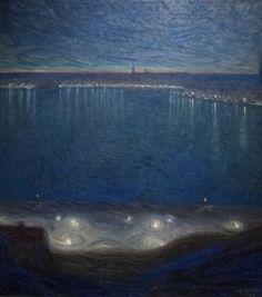Eugène Jansson, el pintor del azul