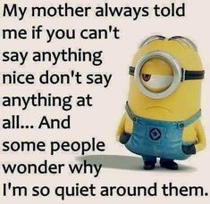 37 Very Funny minions Quotes 16 Jokes of the day for Sunday, 09 December. 40 Snarky Funny Minions to Crack You Up - 150 Funny Minions Quotes and Pics Top 97 Funny Minions quotes and sayings 100 Disney Memes That Will Keep You Laughing For Hours Lo. Minion Humour, Funny Minion Memes, Funny Texts, Memes Humor, Funny Sarcastic, Funny Humor, Humor Texts, Humor Humour, Funny Math Jokes