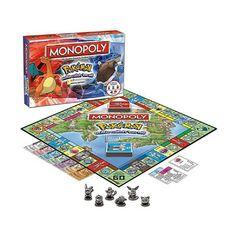 Pokemones Monopoly Toys Pokemones All English Board Game Board card Game Family Pokemon, Mario Toys, Family Board Games, Sports Toys, Educational Toys, Games For Kids, Baby Toys, Card Games, Children