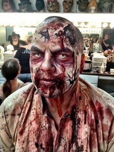 Zombie makeup. Special fx makeup. The Dent Schoolhouse Cincinnati Ohio. MUA abbey young