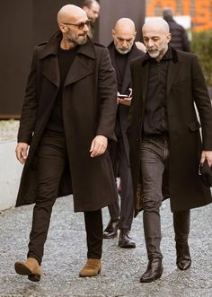 men's street style outfits for cool guys Gentleman Mode, Gentleman Style, True Gentleman, Stylish Men, Men Casual, Smart Casual, Bald Men Style, Style Masculin, Herren Outfit