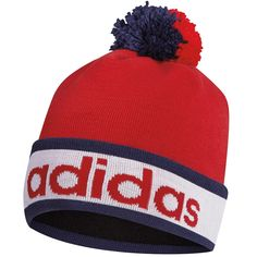 cb2e8f31a753d Stay warm and cozy on the golf course with this stylish looking mens  climaheat pom pom golf beanie bobble hat by Adidas!