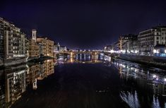 Arno by Night - Firenze