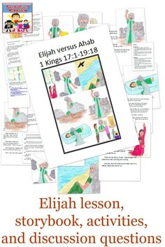I love studying Elijah, and there are a lot of fun Elijah activities to do, here's a small portion of what Elijah activities you could do.