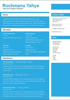 CV templates 9 Amazing Collection Of Free CV/Resume Templates
