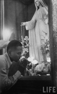 """""""Do Catholics pray to Mary?"""" Excellent article on the subject, for those wanting to understand more..."""
