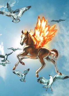 Bella Sara cards  www.heathertheurer.com Beautiful Fantasy Art, Beautiful Horses, Magical Creatures, Fantasy Creatures, Unicorn Pictures, Horse Pictures, Unicorn Fantasy, Fantasy Girl, Horse Cards
