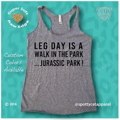 LEG DAY Is a WALK In The Park...Jurassic ParkTri blend raw