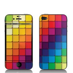 Cubes iPhone 4/4S Decal now featured on Fab.