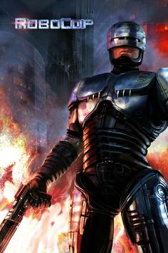 Robocop Art by Andrii Shafetov