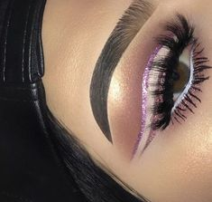 Eye Makeup Tips.Smokey Eye Makeup Tips - For a Catchy and Impressive Look Makeup On Fleek, Kiss Makeup, Glam Makeup, Love Makeup, Makeup Inspo, Makeup Art, Makeup Inspiration, Beauty Makeup, Hair Makeup