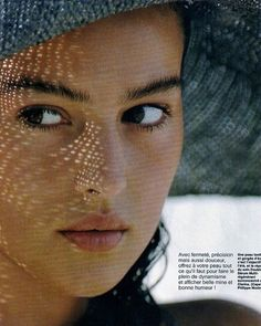Monica Bellucci by Hans Feurer, Elle France, 9th May 1988.