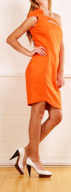 Thierry Mugler Dress.