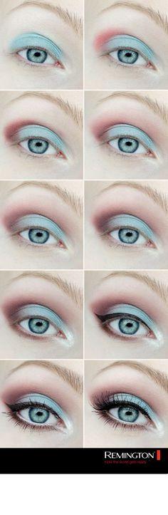 Los colores en tendencia este 2016 también se llevan en los ojos. ¡No temas en utilizar colores distintos en tu maquillaje y atrévete a experimentar! #eyes #makeup #eyeshadow #DIY #fashion #trend