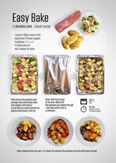 25 Cheat Sheets That Make Cooking Healthier Less Of A Freaking Chore For a super-simple dinner recipe that you can mix-and-match a ton of ways. Easy Cooking, Healthy Cooking, Healthy Snacks, Healthy Eating, Cooking Recipes, Healthy Recipes, Cooking Tips, Easy Dinner Recipes, Easy Meals