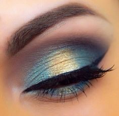 Turquoise with a hint of gold