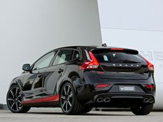 Heico Sportiv Rolls Out New Volvo Pirelli Special Edition Volvo C30, Volvo Auto, Sports Wagon, Moto Cafe, Hot Cars, Cars Motorcycles, Dream Cars, Vehicles, Black