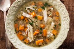 Slow Cooker Chicken Soup