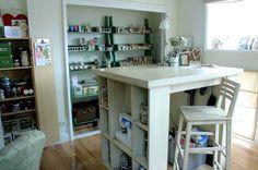 My Sweet Savannah: craft room inspiration!