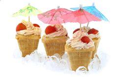 'Ice' cupcakes!