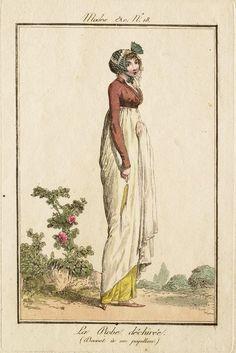 Modes et Manières No. 18: La robe déchirée (Bonnet à un papillon)