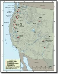 Field-trip guides to selected volcanoes and volcanic landscapes of the western United States
