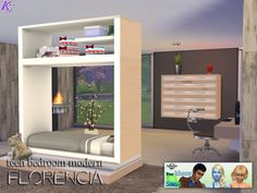 Khany Sims - Chambres - Sims 4 - Bedrooms