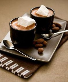 On a cold morning with some espresso or coffee. Yumm.
