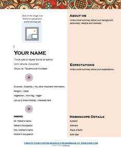 marriage bio data format 9 Sample Biodata Format For Marriage With Bonus Writing Tips! Bio Data For Marriage, Save My Marriage, Marriage Advice, Resume Format, Sample Resume, Curriculum Vitae Format, Marriage Biodata Format, Biodata Format Download, Marriage Images