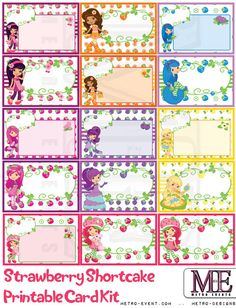 Strawberry Shortcake Blank Card Kit - Instant Download, Printable Files, Includes 15 Strawberry Shortcake & Friends Character cards, each card is 4x6 This listing is for an INSTANT DOWNLOAD Printable PDF files for a from our Strawberry Shortcake Birthday Collection! No items are shipped, The signs listed can NOT be switched out or exchanged. Created By Metro-Event.com Welcome To Metro Events Party Files & Prints ●●●●PLEASE READ THE FULL DESCRIPTION!!!●●●● ●●●●●●●●●For full details of ...