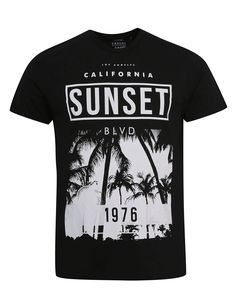 Monochrome Sunset T-shirt | Men | George at ASDA