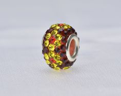 rhinestone beads,14x10mm rondelle beads, crystal beads,copper beads,copper beads, charm beads