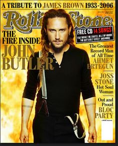 and why did i not get this ROLLING STONE mag! love this man!