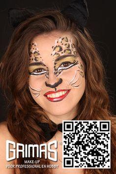 Mujer Gata - www.maquillador.eu, ejemplos de maquillaje