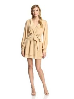 Jay Godfrey Women's Napolitano Wrap Dress (Flesh)