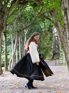 Most scandinavians, at some point in their lives, will buy a costume native to the city and 'county' from which their ancestors came.