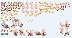 E018 Q版跑酷游戏全套PNG 手游美术素材/ICON图标UI界面 天天酷跑-淘宝网全球站