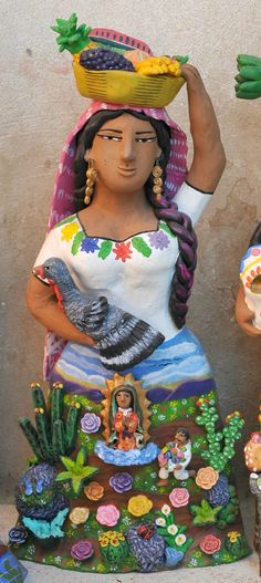 Woman With Guadalupe Mexico | San Juan Diego encounters the … | Flickr